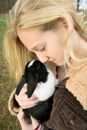 What Does It Mean When Your Rabbit Nudges You?